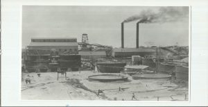 BEATRICE MINE IN 1920 FROM A TALK BY JAMES AND JOHN SKINNER DURING THE  HSZ VISIT TO THE MINE