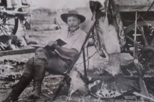 FREDERICK COURTENAY SELOUS - THE HUNTER (FROM A TALK BY J. WATERS ENTITLED 'THE CENTENARY OF THE DEATH OF F.C.SELOUS)