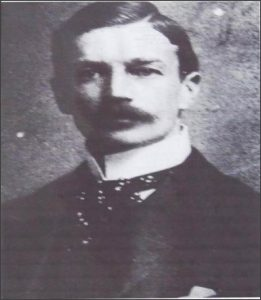 """HUGH MARSHALL HOLE (1865 - 1941) SECRETARY TO THE ADMINISTRATOR - BULAWAYO (From the talk by Bob Armstrong """" Hugh Marshall Hole and his Matabeleland Stamp  Currency Cards of 1900"""")"""