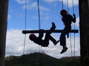 "THE JACOB'S LADDER - A CHIMANIMANI OUTWARD BOUND SCHOOL ACTIVITY (From Dave Meikles talk ""Zimbabwe Outward Bound"")"