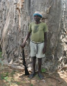 """JOHN PUZI, LEGENDARY POACHER/HUNTER (From the talk by Clive Stockil """"History of the First Campfire Project in Zimbabwe"""")"""