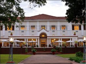 """THE WORLD FAMOUS VICTORIA FALLS HOTEL (From the talk by Llew Hughes - A Trip Down Zimbabwe's Gourmet Lane"""")"""