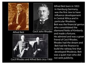 Albert Beit (Slide from The History of Jewish People of Zimbabwe talk by Benny Leon)