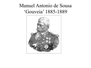 Manuel Antonio de Sousa 'Gouveia' 1885-1889 (Slide from The History of the Portuguese in Zimbabwe talk by Henrik Ellert)
